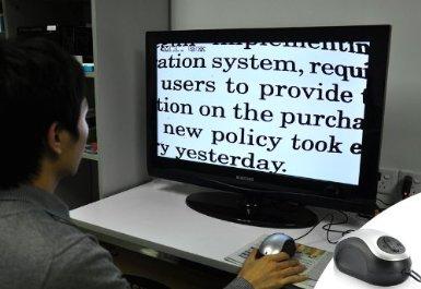 tv                     magnifier low vision aid